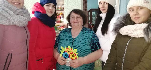 Муниципальная акция, посвященная Международному женскому дню