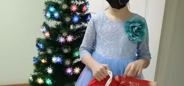 Вручение новогодних подарков Губернатора Красноярского края